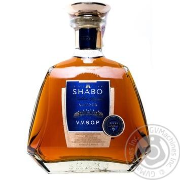 Коньяк Шабо V.V.S.O.P элитный ординарный 5 звезд 40% 0,5л