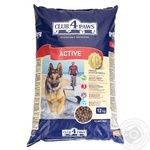 Club 4 Paws Dry pet food for adult active dogs 12kg