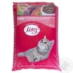 Корм сухой Мяу! для взрослых котов C мясом 11кг