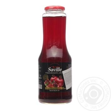 Сок Saville гранатовый без сахара 1л - купить, цены на Novus - фото 3