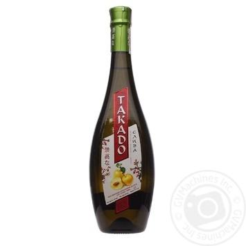 Напій винний Такадо сливовий лікерний білий сололдкий 11% 0,7л - купити, ціни на Фуршет - фото 3