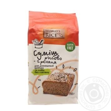 Смесь рисово-гречневая World's Rice 700г