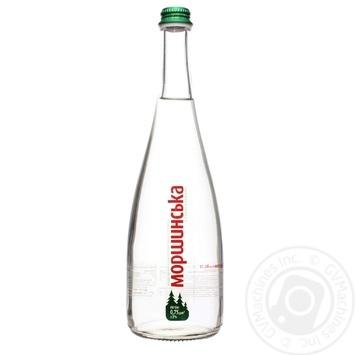 Вода Моршинская премиум слабогазированная стекло 0,75л