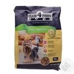 Корм сухий Club 4 Paws для взрослых собак малых пород 500г