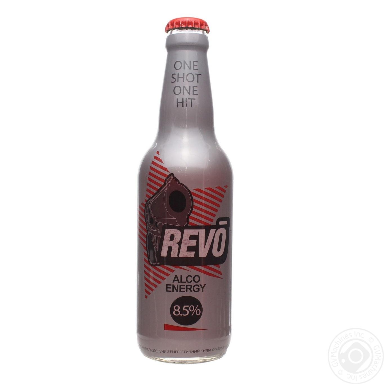 Напи�ок �лабоалкогол�н�й revo 033л ��екло � Напи�к