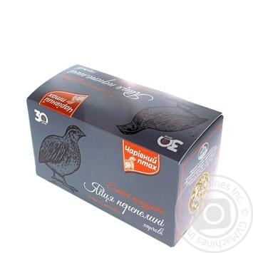 Charivniy Ptahk Elite Quail Eggs 30pcs