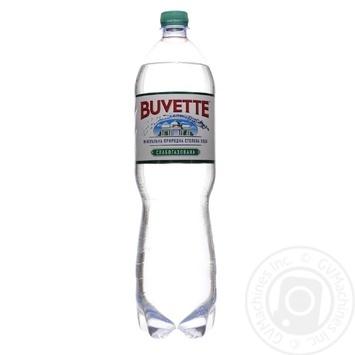 Вода Buvette Vital минеральная слабогазированная 1,5л