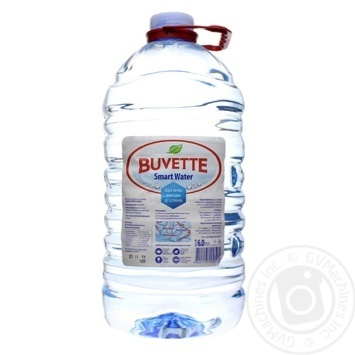 Вода Buvette минеральная негазированная 6л - купить, цены на Восторг - фото 1