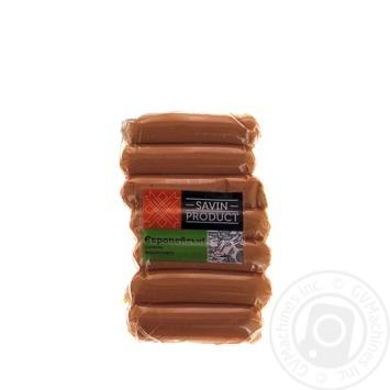 Сосиски Savin Produkt Европейские высшего сорта