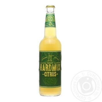 Пиво Hardmix Лимон та імбир 0,5л