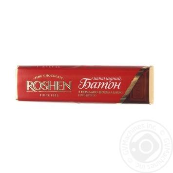Roshen Chocolate Fondant Filling Chocolate Bar