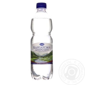 Вода минеральная Премія КарпатДжер столовая с/газ 0,5л