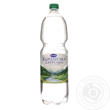 Вода минеральная Премія КарпатДжер стол сл/газ 1,5л