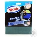 Серветка д/кухні з мікрофіброволокна Nicols Soft 32*36 506418