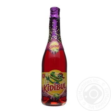 Beverage Kidibul with apple strongly carbonated 750ml
