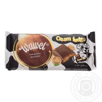 Chocolate milky Wawel caramel bars 100g