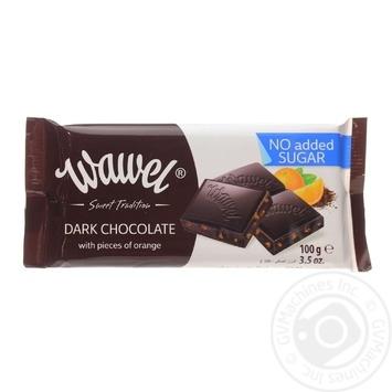 Шоколад черный Wawel с желейн шариками без сахара 100г