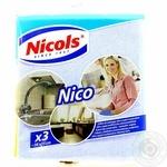 Серветки універсальні Nicols 3шт