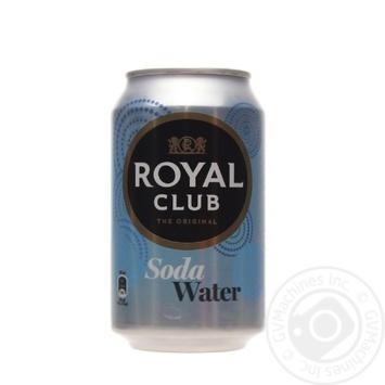 Напиток Royal Club Содовая вода б/алк газ 0,33л