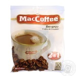Instant sugar-free coffee drink MacCofee 2in1 with coffee extract stick sachet 12g Singapore