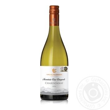Вино Luis Felipe Edwards Шардоне белое полусухое 12,5% 0,75л