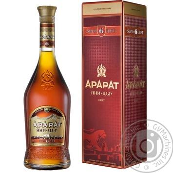 ARARAT Ani 6YO Brandy 700ml gift box