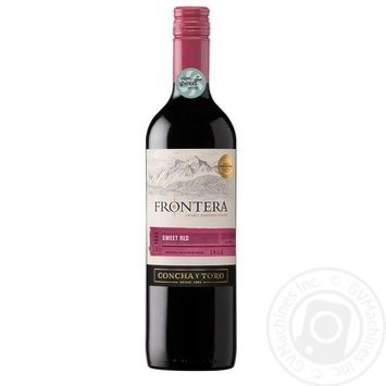 Frontera Sweet Red Red Sweet Wine 9.5% 0,75l - buy, prices for EKO Market - photo 1