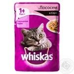 Whiskas With Salmon In Sause For Adult Cats Food - buy, prices for Novus - image 3