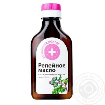 Репейное масло Домашний доктор против выпадения волос 100мл
