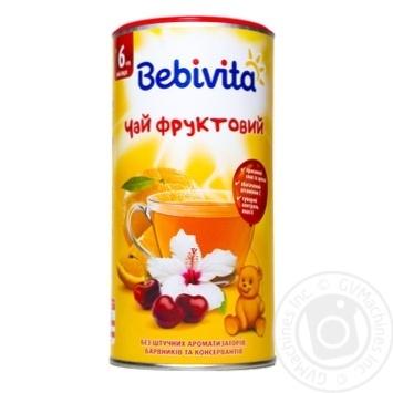 Чай Бебивита Фруктовый детский быстрорастворимый с 6 месяцев 200г