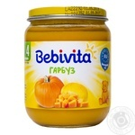 Bebivita for children from 4 months pumpkin puree 125ml
