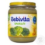 Пюре овощное Bebivita Брокколи 125г