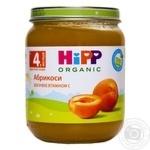 Пюре ХиПП Абрикосы для детей с 4 месяцев 125г