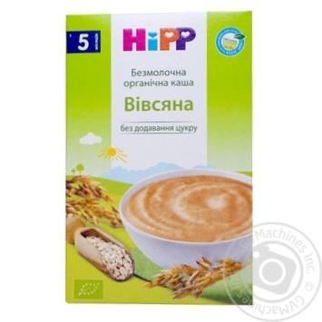 Каша детская HiPP  био-овсяная безмолочная с 5 месяцев 200г - купить, цены на Novus - фото 7