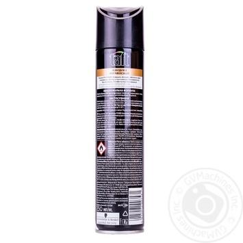 Лак Schwarzkopf Taft Invisible Power Три погоди для укладання волосся невидимий стайлінг і мегафіксація 250мл Німеччина - купити, ціни на Novus - фото 2