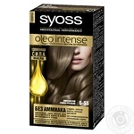 Cream-paint Syoss for hair
