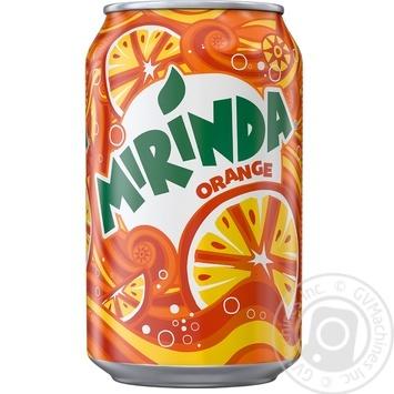 Напиток Mirinda Апельсин 0,33л ж/б