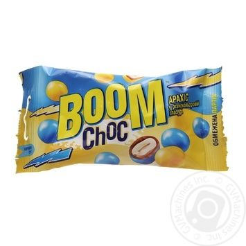 Dragee peanuts Boom choc 50g - buy, prices for MegaMarket - image 1