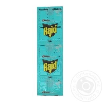 Пластины от комаров Raid Эвкалипт для фумигатора 10шт - купить, цены на Novus - фото 3