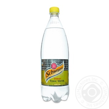 Schweppes Indian tonic carbonated beverage 1000ml - buy, prices for Metro - image 1