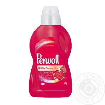 Засіб для прання Perwoll для кольорових речей 900мл - купити, ціни на МегаМаркет - фото 1