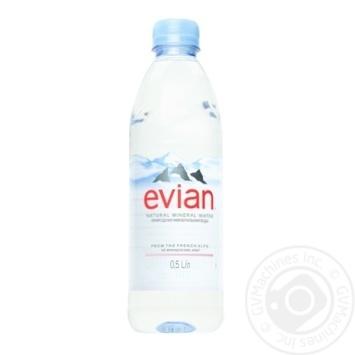 Evian Still natural mineral water 0,5l
