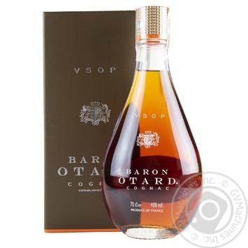 Коньяк Baron Otard V.S.O.P. 40% 0.7л - купить, цены на МегаМаркет - фото 1