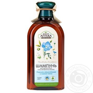 Шампунь Зелена аптека ромашка для забарвленого і мелірованого волосся 350мл