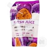 Крем-гель для душу Passion fruit&Magnolia Fresh Juice дой-пак 200 мл
