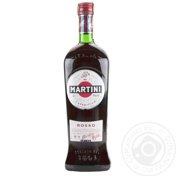 Martini Rosso Vermouth 15% 1l - buy, prices for Furshet - image 1