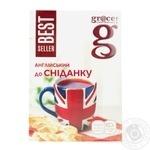 Черный чай Грэйс! Английский к завтраку листовой 100г