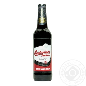 Пиво Budweiser Budvar 4.7% темное 0,5л