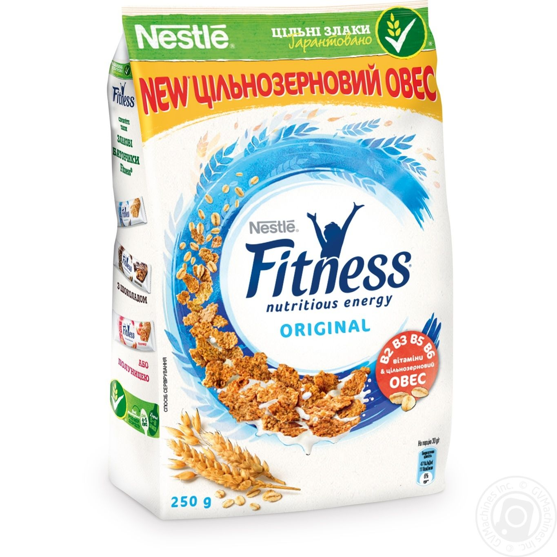 93fee5d04639 Готовый завтрак Nestle Fitness из цельной пшеницы 250г → Бакалея ...