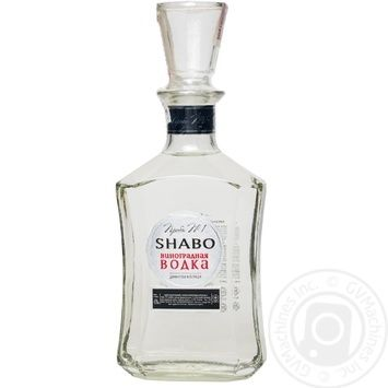 Водка виноградная Шабо Проба №1 500мл